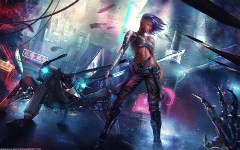 Asian Anime Wallpaper - asian cyberpunk wallpapers hd wallpapers id 13774
