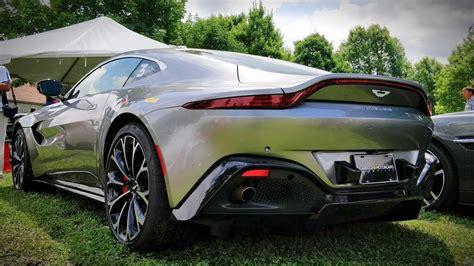 New 2019 Aston Martin Vantage Walkaround -- Sexiest Aston