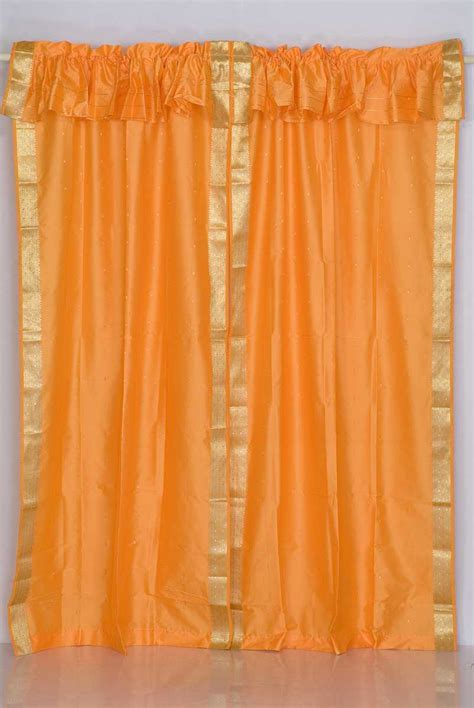 Best Fabrics For Curtains by Sari Curtains Sari Fabric Curtains Indian Saree Curtains