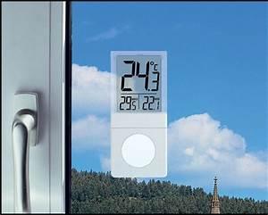 Digital Window   Indoor Thermometer Vista