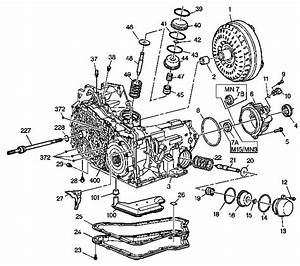 Gm 3800 Transmission Section - 4t65e