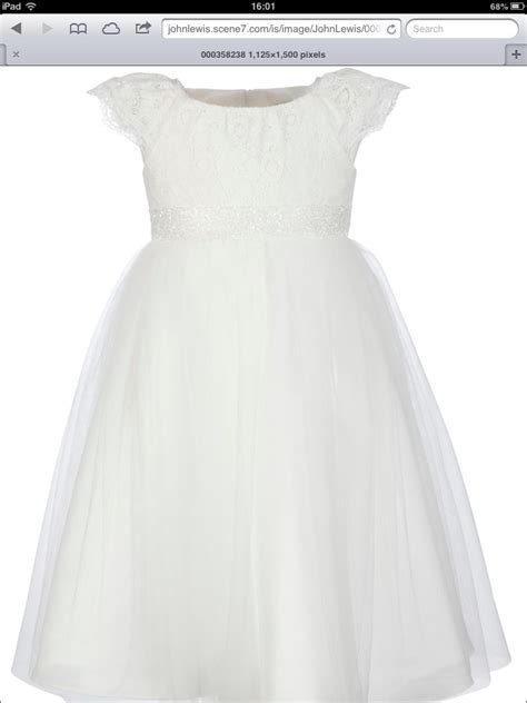 flower girl dress john lewis  wedding pinterest