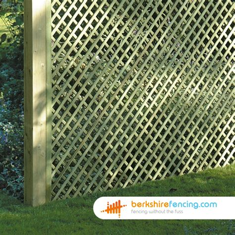 6ft Fence Panels With Trellis by Rectangle Trellis Fence Panels 1ft X 6ft Brown