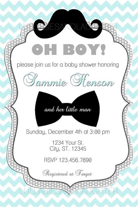 Custom Baby Shower Invitations For Boys Theruntimecom