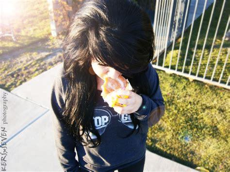 beautiful black hair brown hair curly cute image