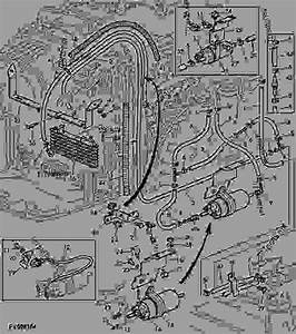 Fuel Hoses - Tractor John Deere 6715 - Tractor