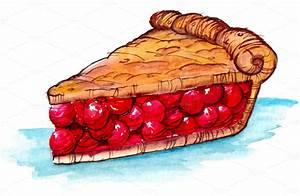 Cherry pie clipart - Clipground