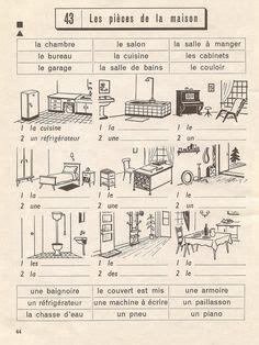 la maison images french class languages