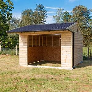3 6m x 3 6m (12' x 12') Mobile Field Shelter - Colt Stables