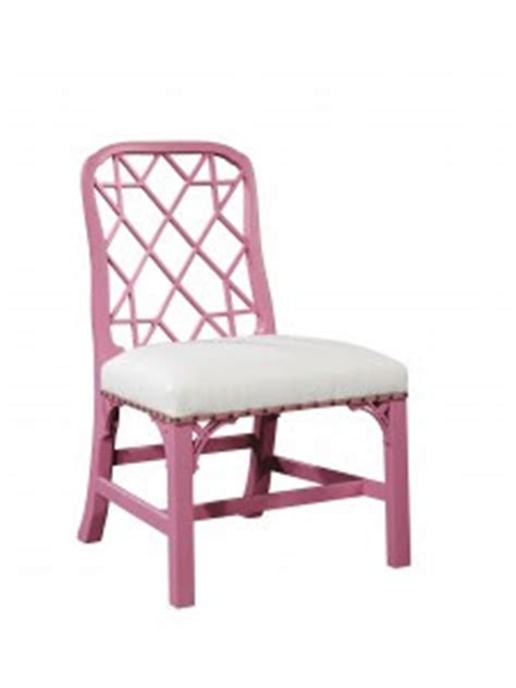 chinoiserie chic the pink chippendale chair