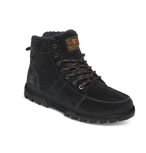 mens woodland outdoor winter boots  dc shoes