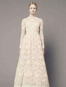 modest wedding dresses dressed up girl With long sleeve modest wedding dresses