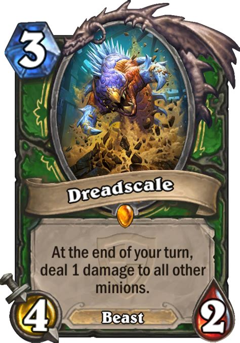Hearthstone Beast Deck Standard by Dreadscale Hearthstone Card