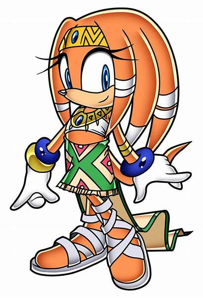 Sonic Tikal Adventure Characters Official Scanf