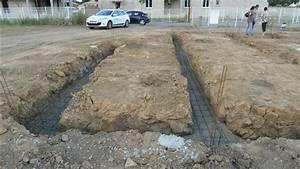 profondeur fondation maison plain pied segu maison With maison en beton coule 5 fondations fondation maison etage les etapes de construction