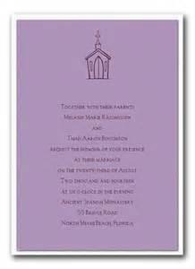 religious wedding invitations wording for christian wedding invitations the wedding specialists