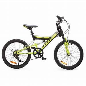 50cm Trax Dual Suspension Kids Bike