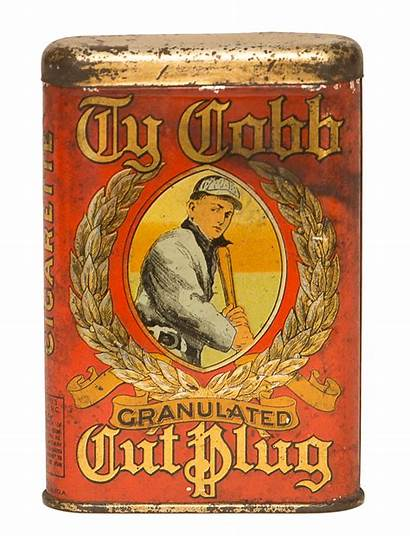 Tin Cobb Ty Tobacco Advertising Metal Auctions