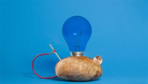 potato light bulb how to make a potato powered light bulb sciencing