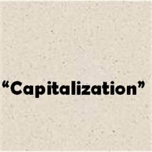 Capitalization ... Bcp Comma Quotes