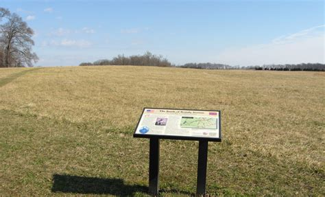 siege knoll the civil war in culpeper county wayside marker