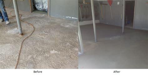 resurface pitted garage floor residential garage floor resurfacing and repair ma ri