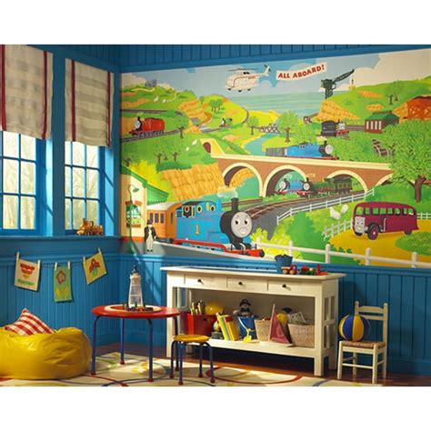 the tank engine bedroom decor new xl the tank engine wall mural room