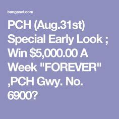 Pch Special Early Look