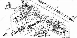 Honda Atv 2006 Oem Parts Diagram For Final Driven Gear