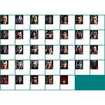 Character Select Spriters Resource Sheet Icons Pc