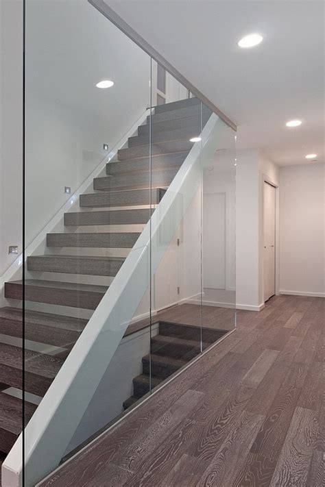 glass stair banisters 133 best fencing barriers stairwells images on