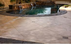 Stamped Concrete Pool Deck This Entry Was Posted In Uncategorized Bookmark The Permalink Stamped Concrete Pool Deck And Staircase With Fiber Optic Light System Patio Designs For Outdoor Spaces 25 Amazing Modern Patio Design