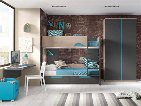 lit superposé bureau lit superposé avec bureau pour 2 enfants glicerio so nuit