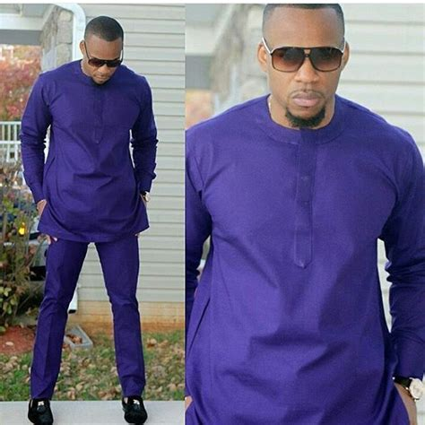African Traditional Menswear - African Men Wedding Outfit African clothes