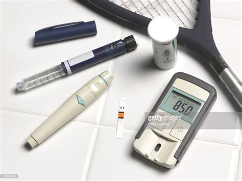 diabetics blood sugar level test kit  insulin stock