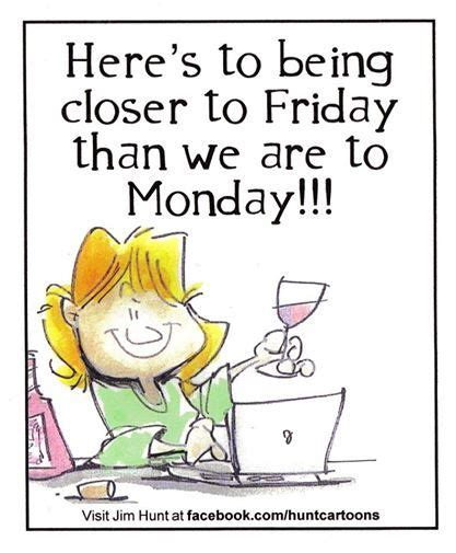 Then keep on scrolling for a list of funny yet completely relatable tweets written by coffee lovers. Closer to Friday than Monday (With images) | Funny cartoon drawings, Cartoonist, Good morning quotes