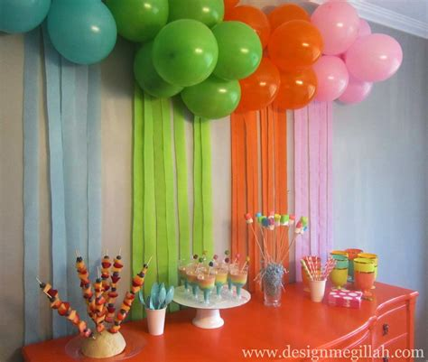 ideas homemade centerpiece for parties my home design the art birthday party best of interior design