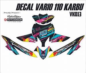 Jual Sticker Decal Honda Vario 110 Karbu Full Body