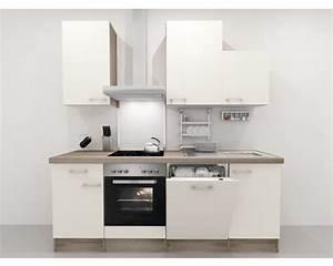 Küchenzeile 220 Cm Geschirrspüler : k chenzeile flex well eico p 878 1 magnolienwei 220 cm inkl einbauger te jetzt kaufen bei ~ Bigdaddyawards.com Haus und Dekorationen
