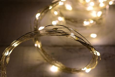 led  strand fairy lights warm white ct ft outdoor