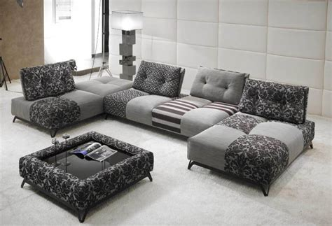 canapé divina tissu ou cuir modulable aerre insensé mobilier