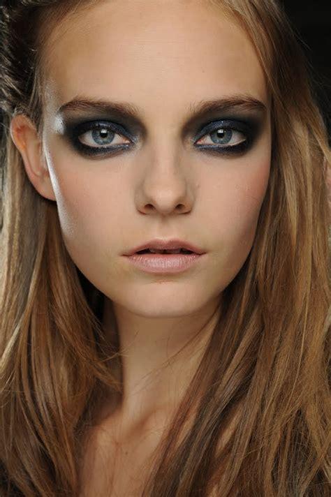 black smokey eye makeup ideas fashionsycom