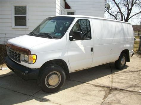 how cars engines work 1995 ford f series interior lighting buy used 1995 ford e 250 work van v8 5 8l as is in cleveland ohio united states