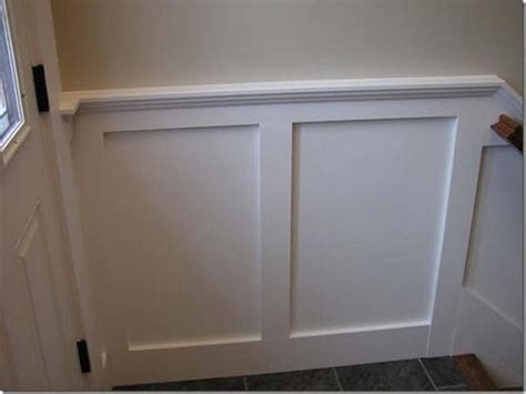 Wainscot Paneling Pictures by Simple Wainscoting Ideas Easy Wainscot Trim Basement