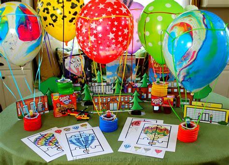 hot air balloon activity pack  kids  fun hot air
