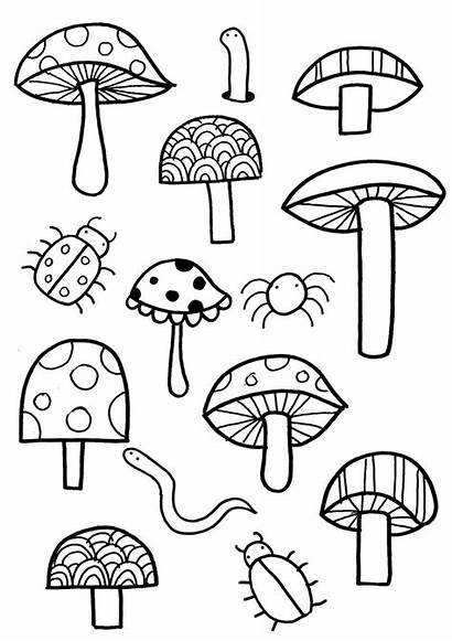 Coloring Pages Garden Colouring Jail Easy Gardening