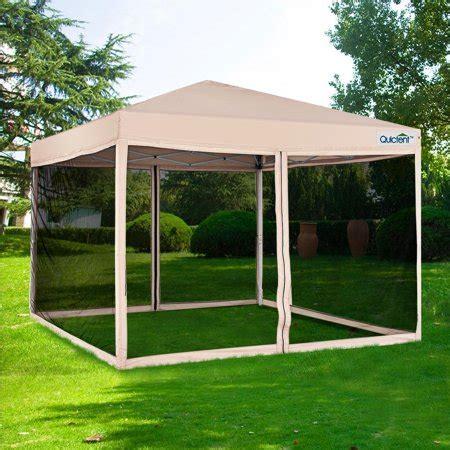 quictent xft ez pop  canopy  netting screen house instant gazebo party tent mesh