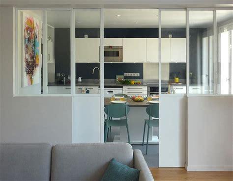 cuisine ouverte design fermer une cuisine ouverte maison design sphena com
