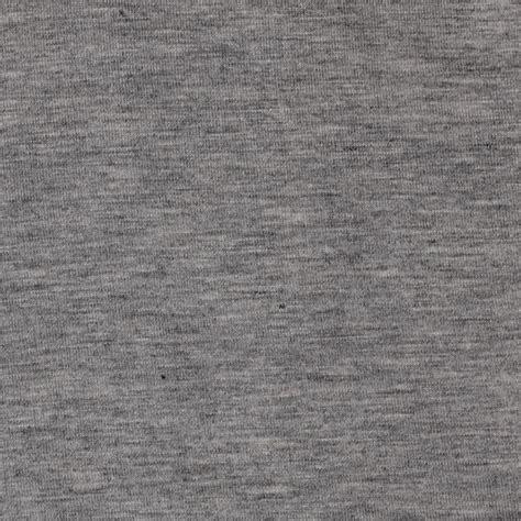 heathered grey rayon spandex jersey knit heather gray discount designer fabric fabric com