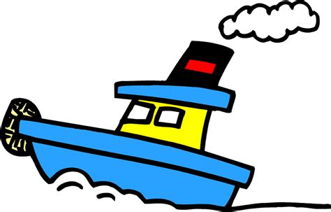 Tugboat Clipart by Tugboat Free Stock Photo Illustration Of A Blue